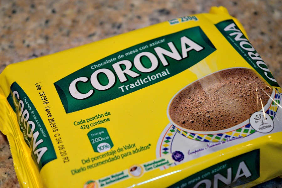 Colombiaanse warme chocolademelk