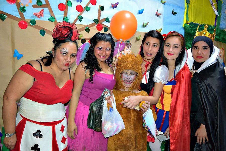 Fotoreportage kinderen met kanker - Halloween