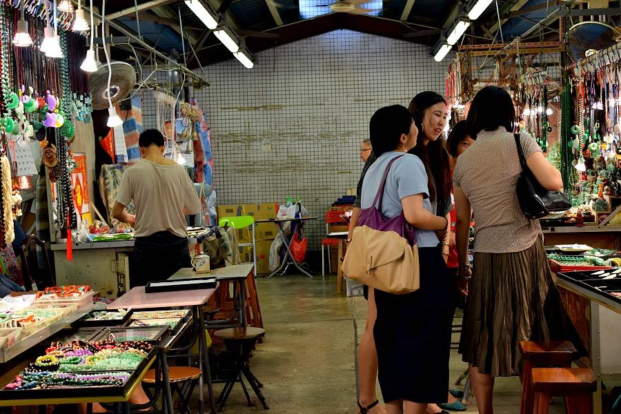 Markten in Hongkong: Jade Market