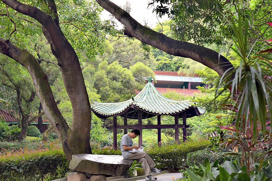 Kowloon Park - parken in Hongkong