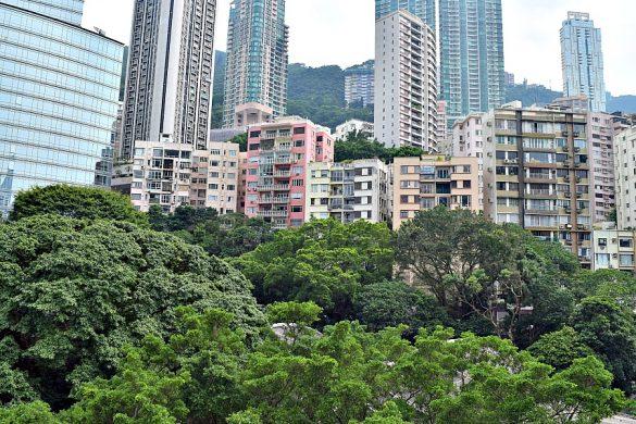 Hong Kong Park - parken in Hongkong