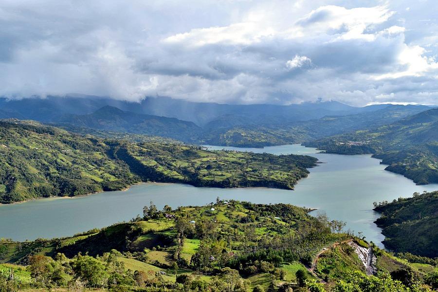 Regen in Colombia
