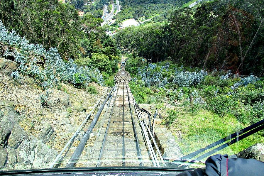 Doen in Bogotá: Monserrate trein