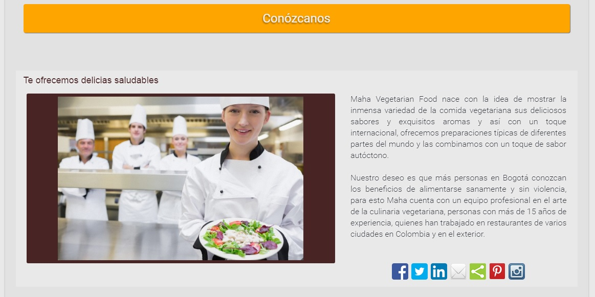 Vegetarisch eten in Colombia