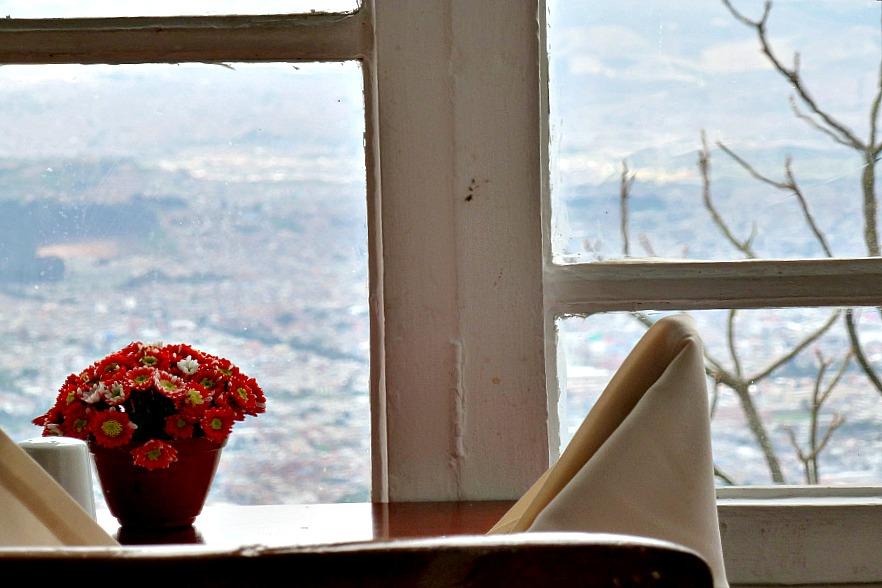 Doen in Bogotá: Monserrate - restaurant