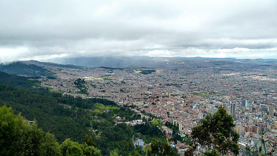 Doen in Bogotá: Monserrate - klimaat