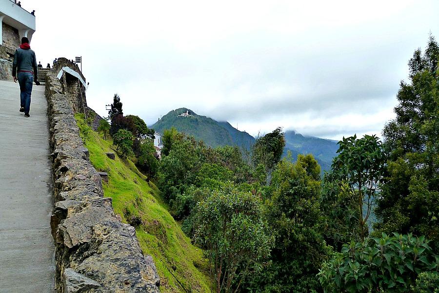 Doen in Bogotá: Monserrate wandelen