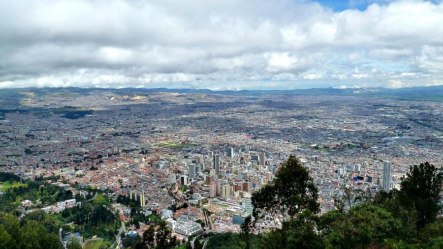 Doen in Bogotá: Monserrate - uitzicht
