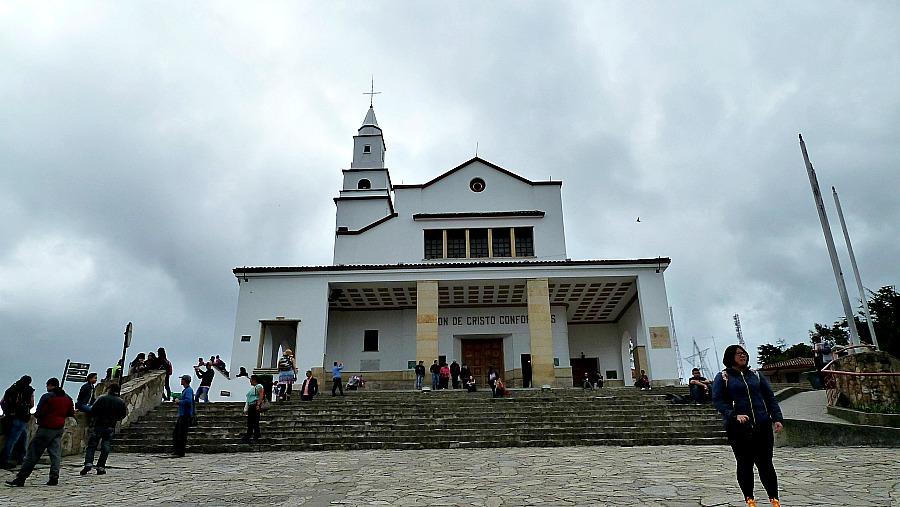 Doen in Bogotá: Monserrate - de kerk