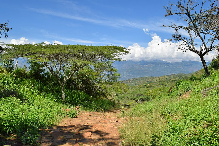 Wandeling Camino Real Barichara Guane - Colombia