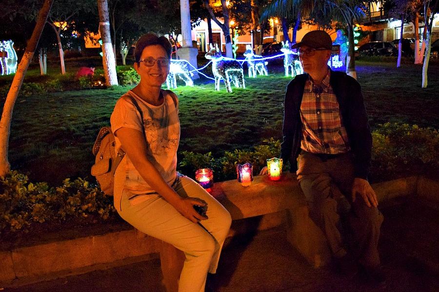 Traditie in Colombia: Las Velitas in Barichara - kaarsjes aansteken