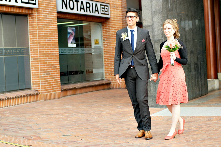 Trouwfoto's - trouwen in het buitenland - de taart