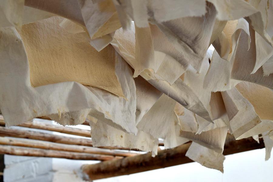 Papier drogen