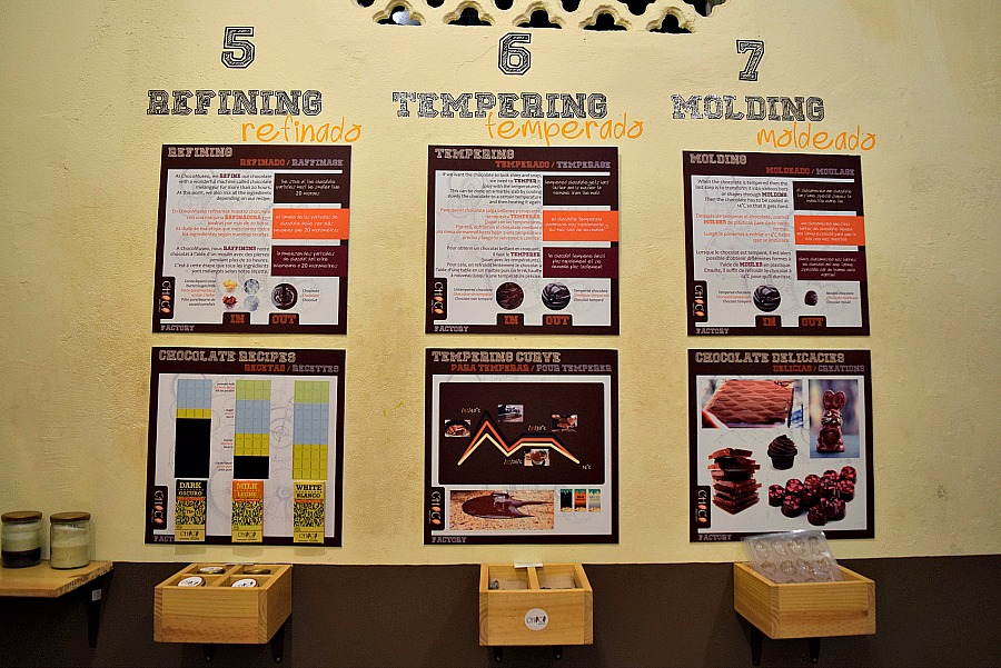 Chocolade museum Cartagena Colombia