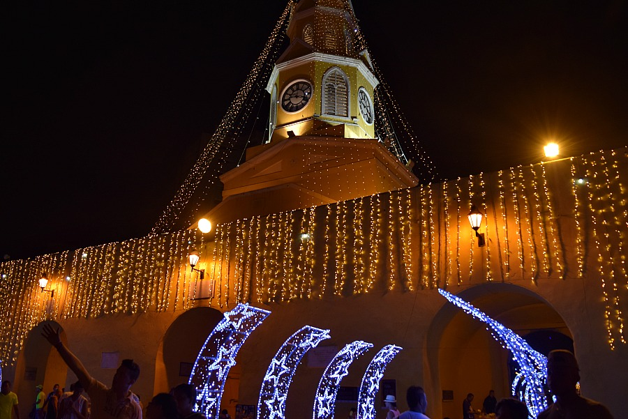 Kerst in Colombia - Cartagena