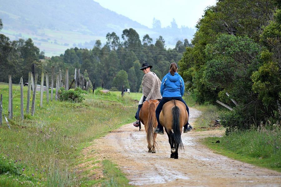 Hotel Colombia: Casa Yerbabuena Boyacá - paardrijden