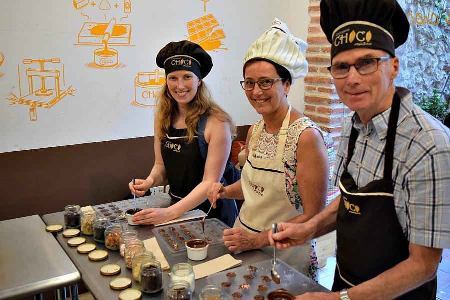 Workshop chocolade maken