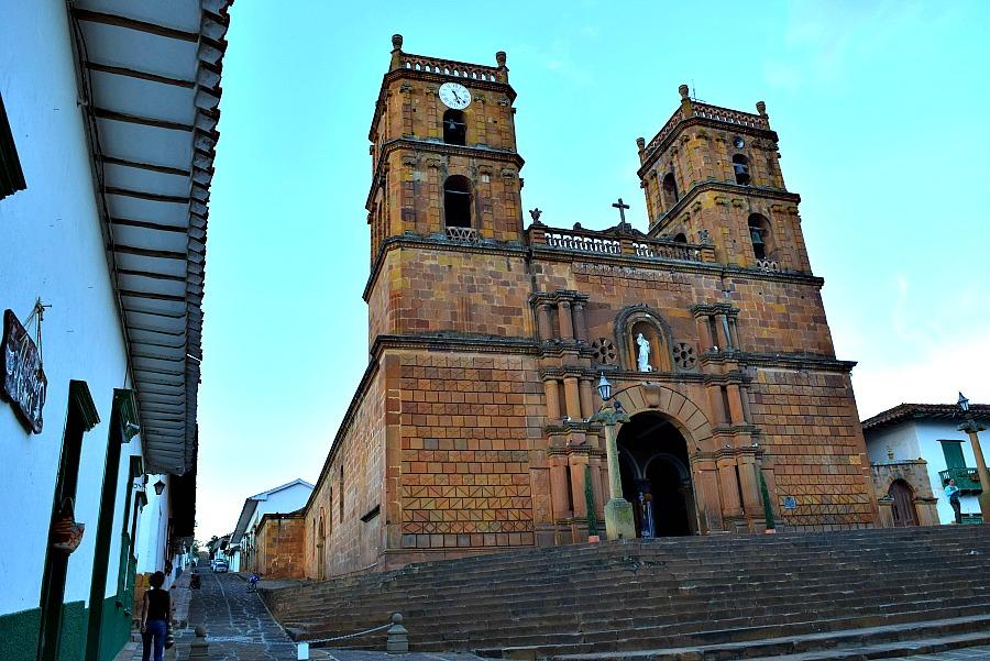 Wat te doen in Barichara: kathedraal