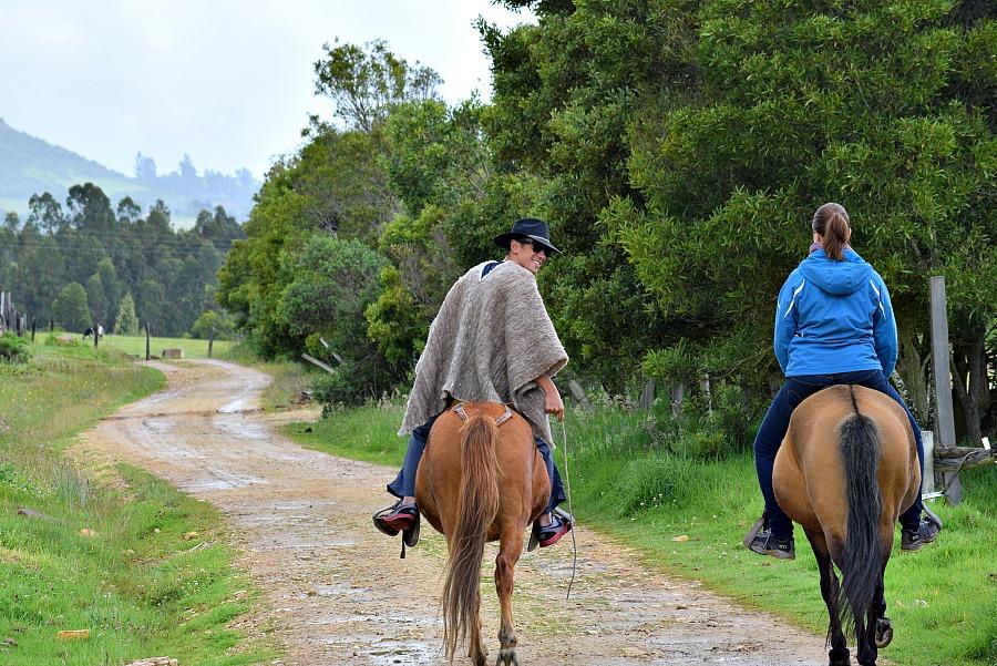 Paardrijden in Colombia
