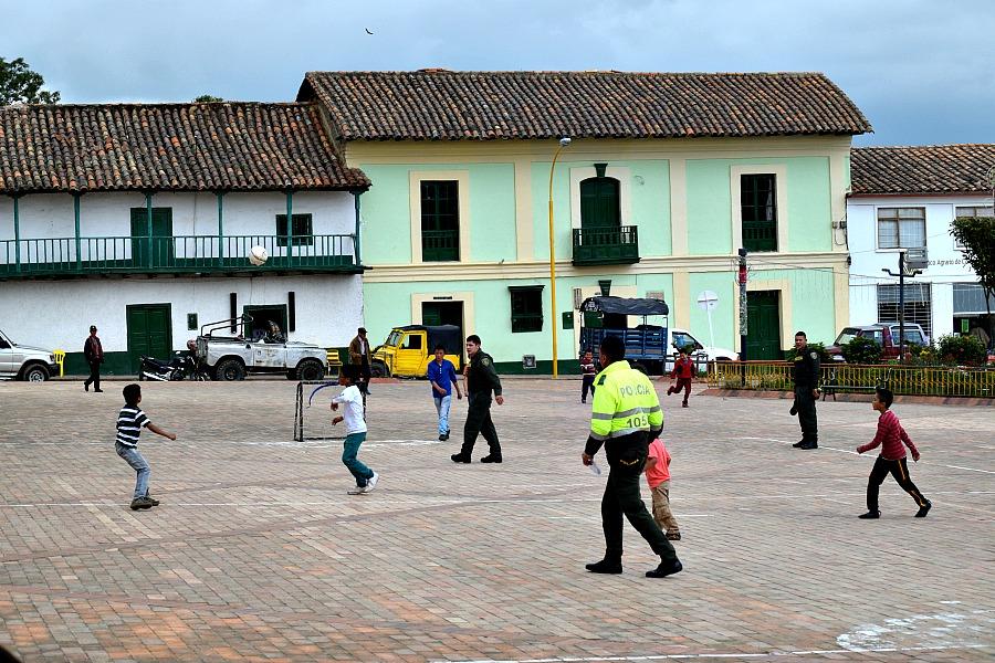 Veilig dorp Colombia