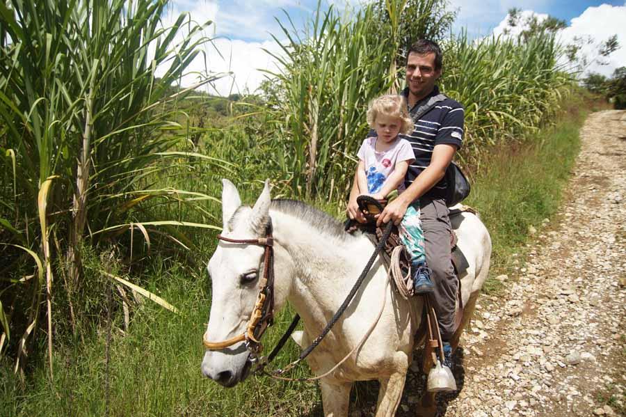 Colombia met kinderen