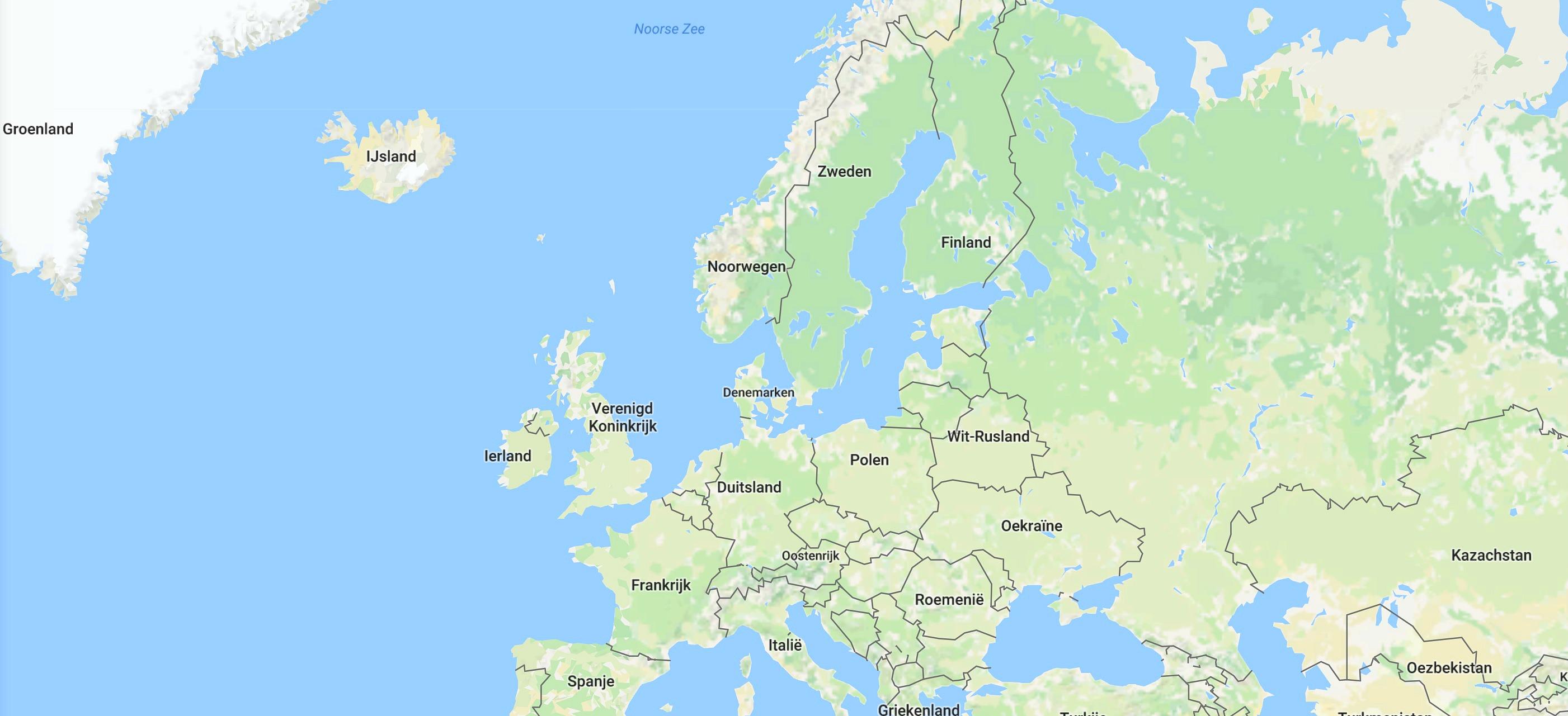 Europa huwelijksreis