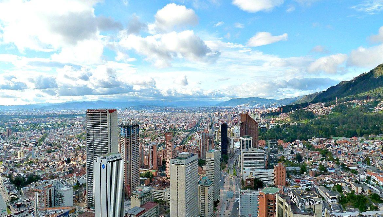 Met de bus door Bogotá - Colombia