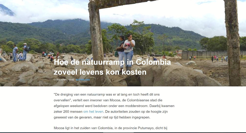 Natuurramp Colombia