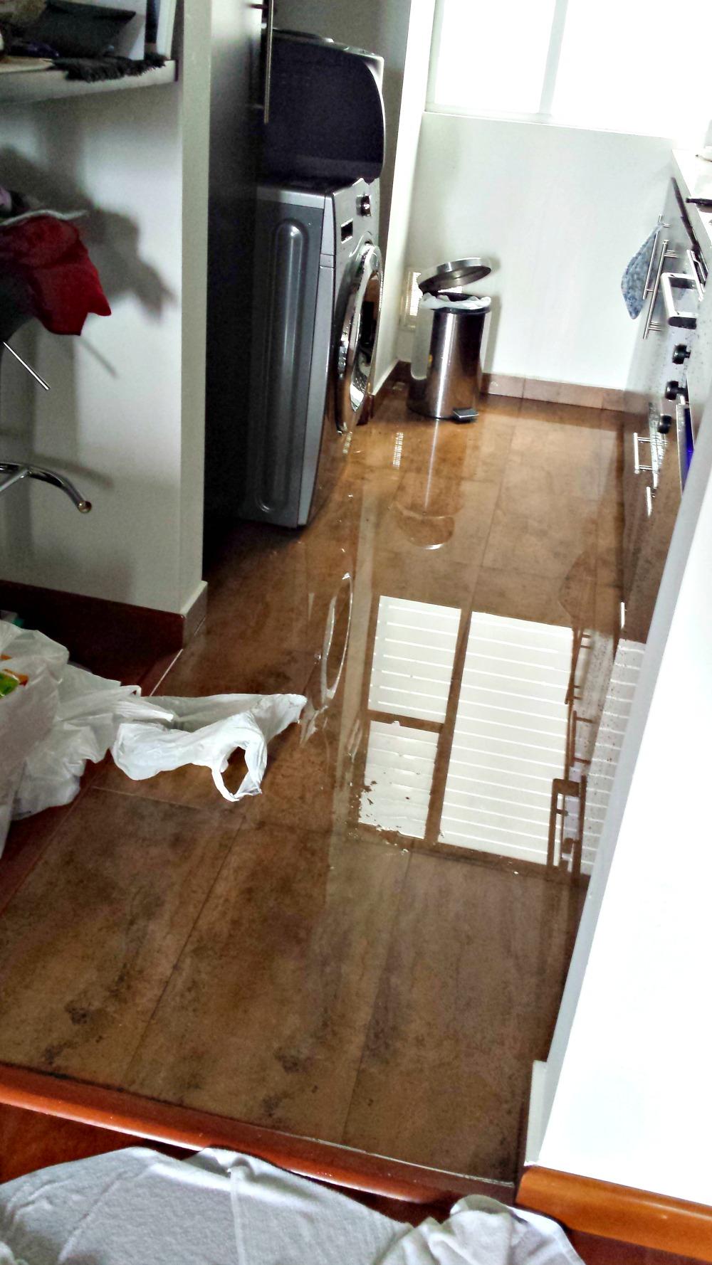 Wasmachine kapot