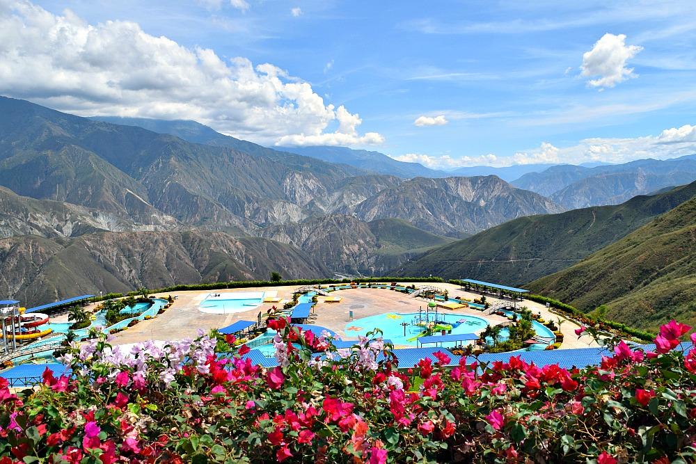 Canyon Chicamocha zwembad