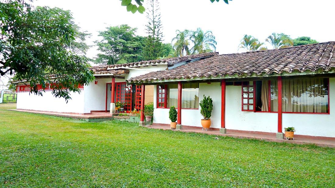 Finca koffie gebied Colombia
