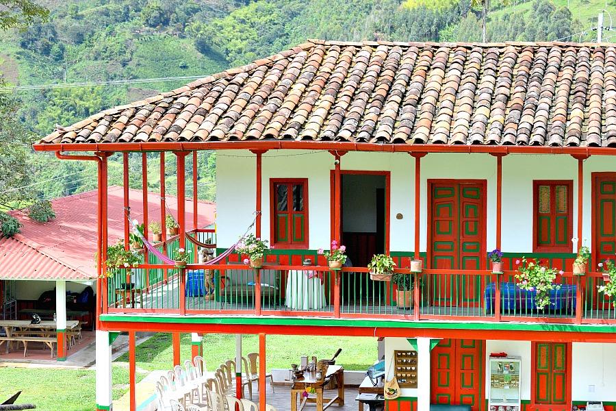 Koffie finca Colombia