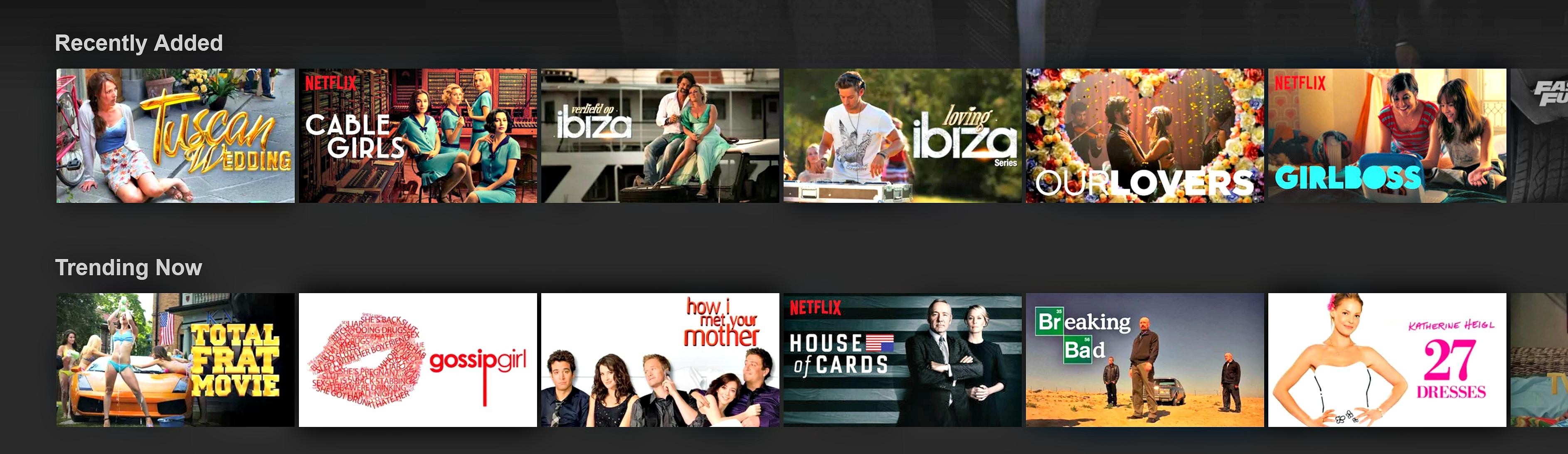 Nederlandse films en series op Netflix