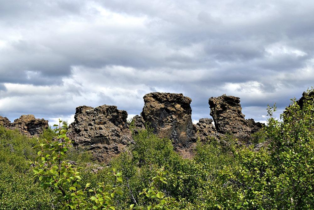 Dimmuborgir IJsland