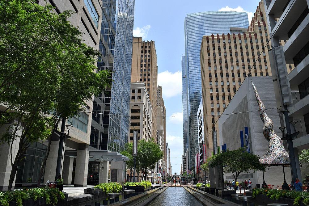 Stedentrip Houston, Texas