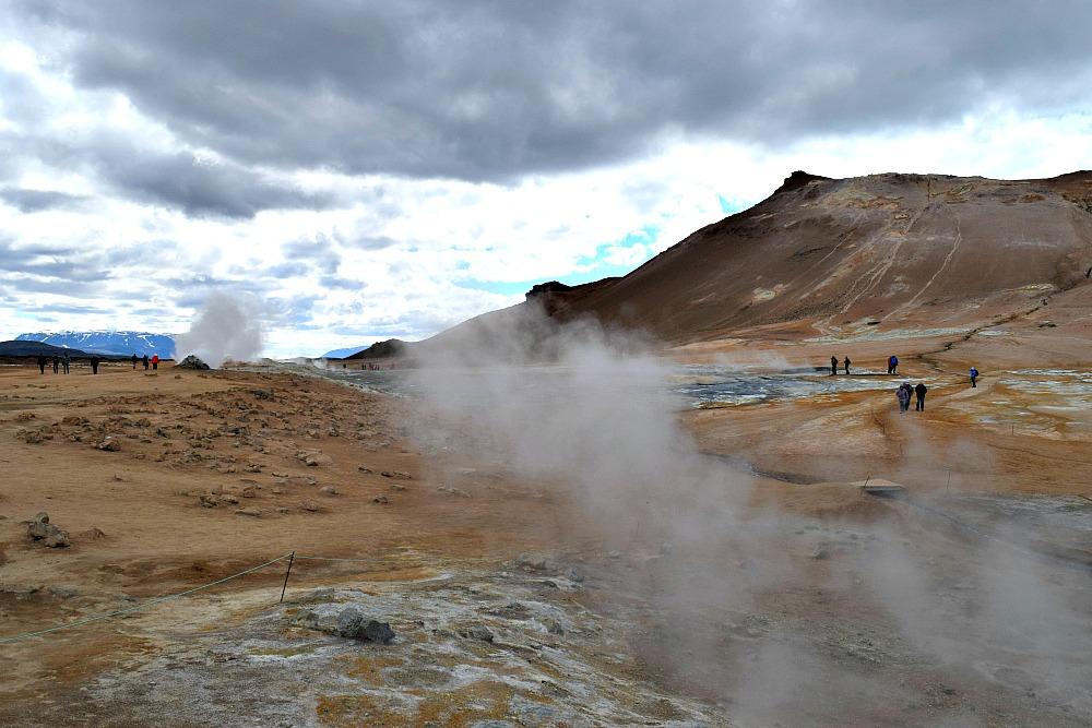 Hverir Myvatn IJsland