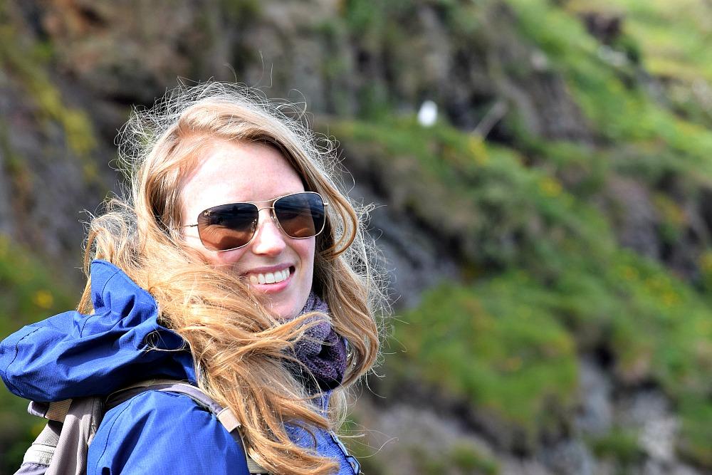 IJsland - ik bij Hvítserkur
