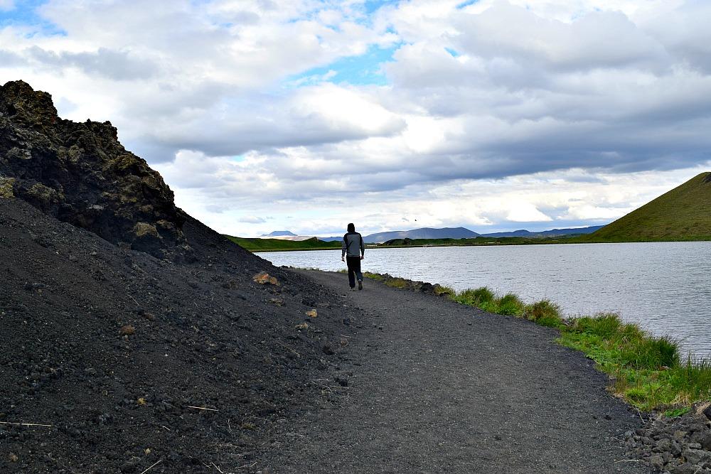 Skutustadagigar Myvatn IJsland
