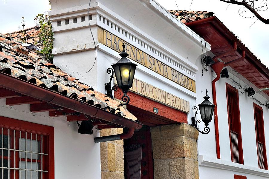 Usaquén Bogotá Colombia Hacienda Santa Barbara