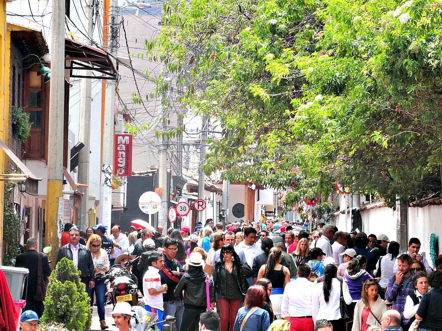 Usaquén Bogotá zondag