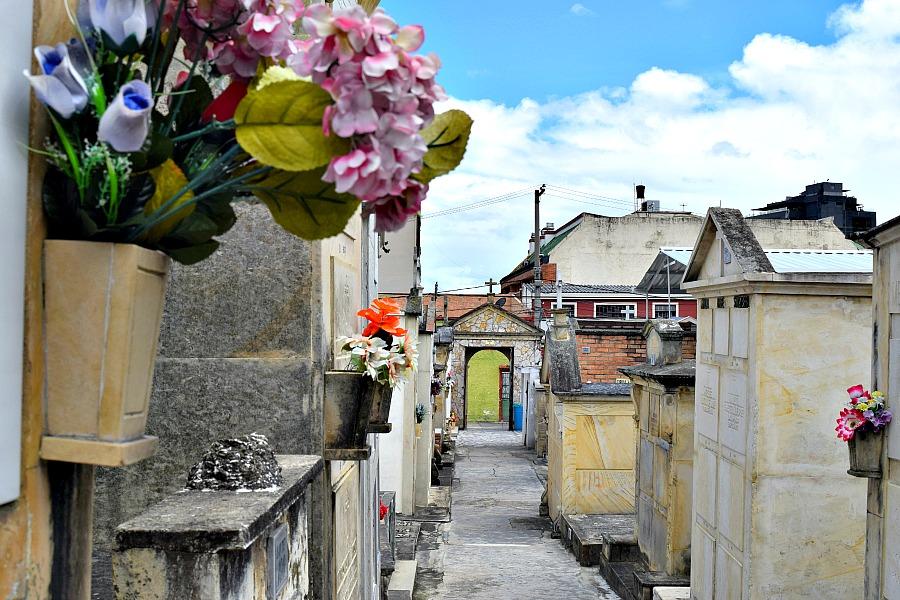 Usaquén begraafplaats Bogotá