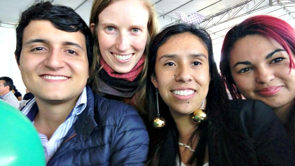 Wonen in Colombia is niet altijd leuk - collega's