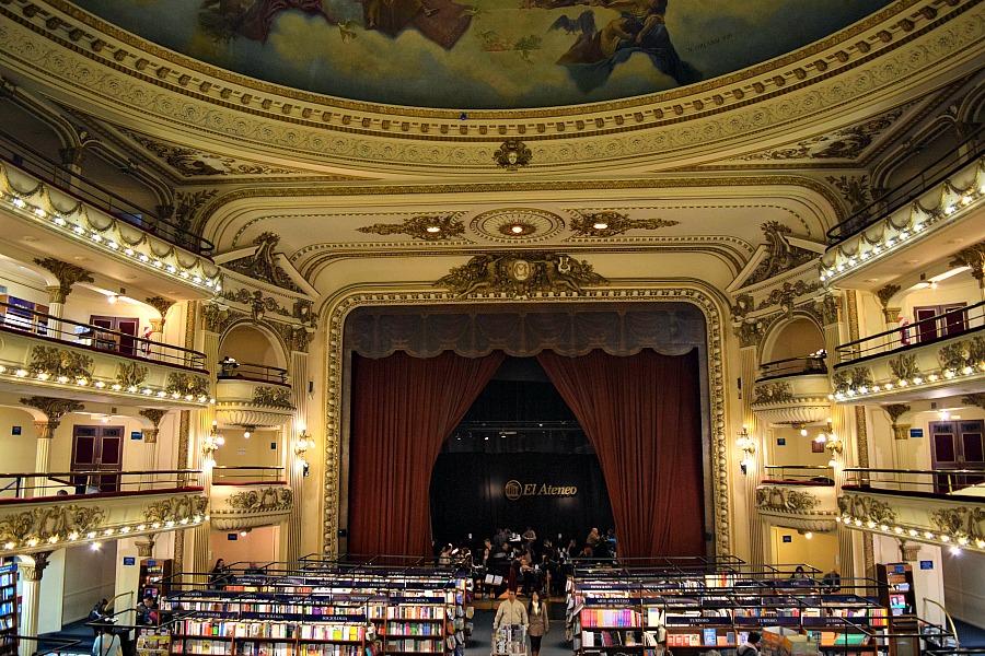 Buenos Aires - boekenwinkel El Ateneo