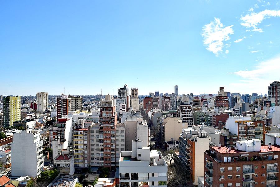 Buenos Aires - uitzicht over Nuñez