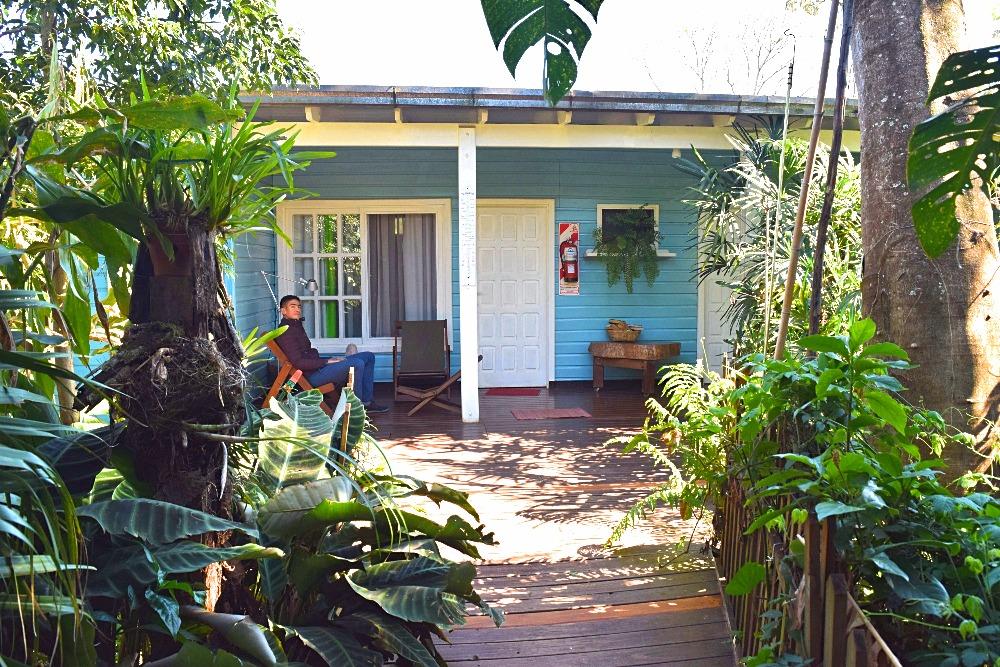Overnachten in Iguazu: Secret Garden