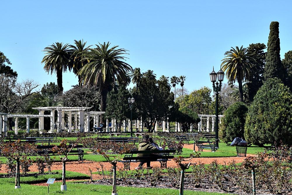 Parken in Buenos Aires - Paseo El Rosedal