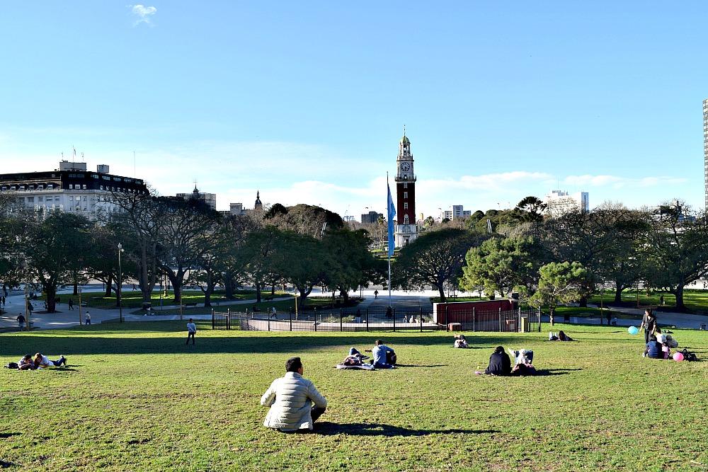 Parken in Buenos Aires - Plaza San Martín