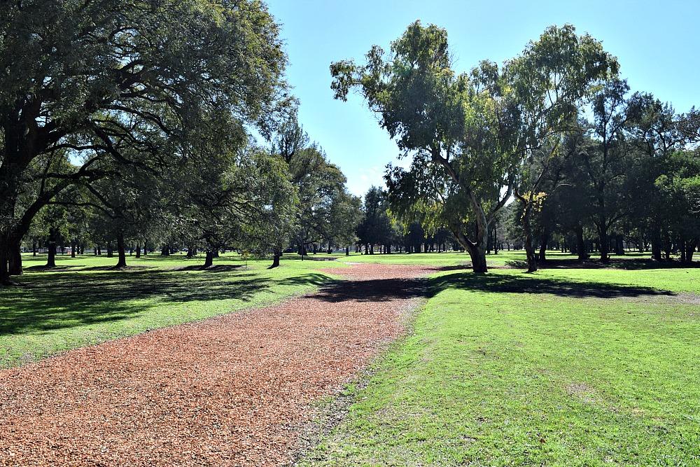 Parken in Buenos Aires - Plaza Sicilia