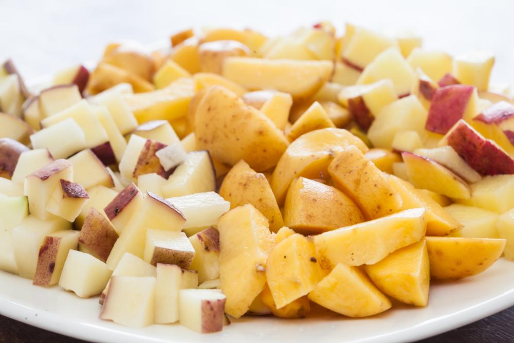 Aardappelen Ajiaco