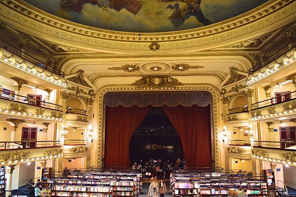 Buenos Aires boekwinkel Grand Splendid 1